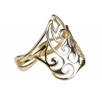 Ażurowa, złota piękność o dwóch kolorach.