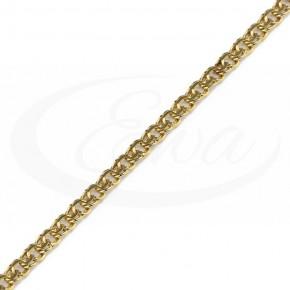 Niezwykle zjawiskowe Garibaldi złote, bransoletka.