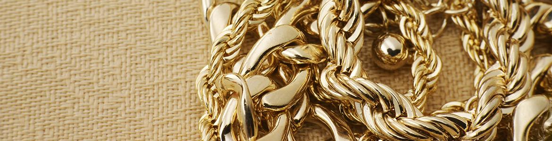 Złote łańcuszki - celebrytki